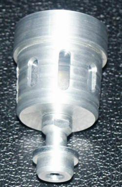 Bremsbehälter Alu-natur