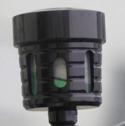 Bremsbehälter schwarz-eloxiert