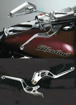DPM Race-Hebel für Honda-Chopper VT 125 600 750 1100 VF750 VTX1300