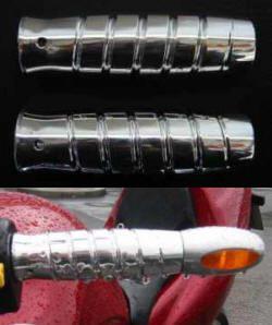 CNC Lenker-Griffe Spiral mit offenen Enden