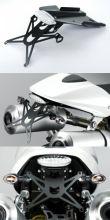 DPM Kennzeichenhalterung für Ducati Monster 2008