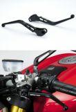 DPM Billet Hebel Race für Ducati mit Brembo Semi-Radialpumpen