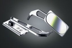 DPM Billet-Alu Spiegel LIGHT Yamaha