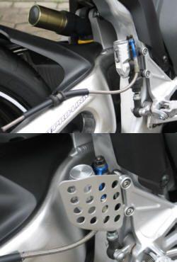 Behälter für Bremspumpe Honda CBR1000 hinten