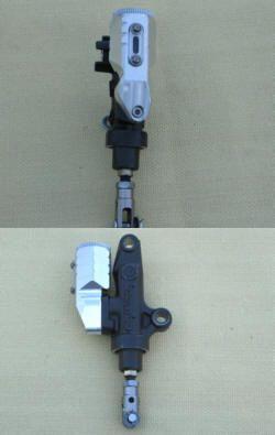 Behälter für Yamaha mit Brembopumpe hinten
