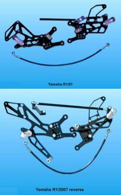 KPS Racing-Rastenanlage für Yamaha