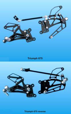KPS Racing-Rastenanlage für Triumph