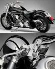 Yamaha Wild Star Umbaukit mit Stummellenker