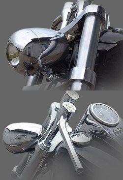 Billet-Xenon-Scheinwerfer