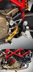 """Rastenanlage """"Sport"""" für Ducati Hypermotard"""
