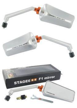 Stage-6 Spiegel F1 Aluminium