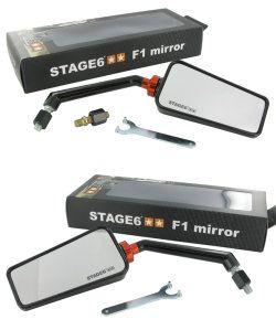 Stage-6 Spiegel F1 Schwarz