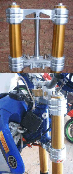 Radialspann-Gabelbrücken für Yamaha