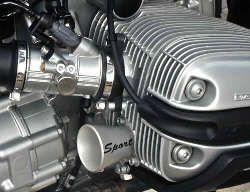 Alu-Ansaugdummy für BMW