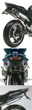 DPM Blast Auspuff Honda Hornet 900