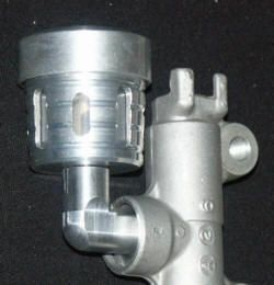 Bremsbehälter hinten für Buell Kawasaki Triumph