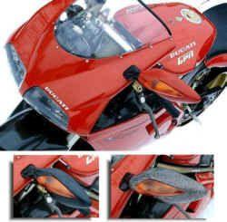 Ducati-Blinkerspiegel für Verkleidungsmontage