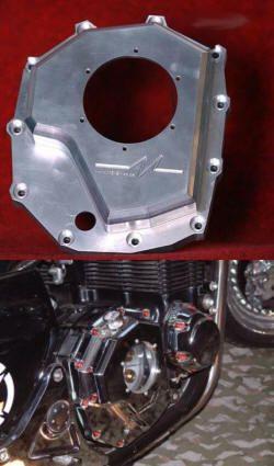 Billet Kupplungsdeckel Honda X4