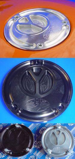 Yamaha CNC-Tankdeckel mit Schnellverschluss