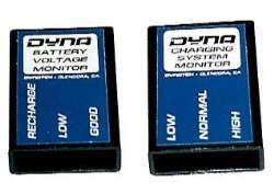 Batterie Spannungs- und Ladeanzeige