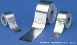 Cool-Tape Alu Fiberglas Hitzeschutzband selbstklebend