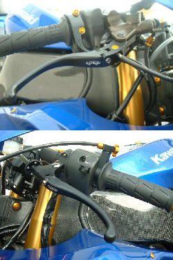 verstellbarer Bremshebel für Nissin-Pumpen