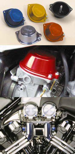 Vergaser-Membrandeckel Suzuki/Yamaha