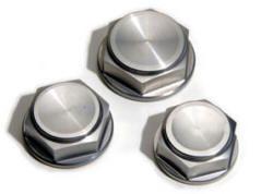 Lenkkopfmuttern aus Aluminium