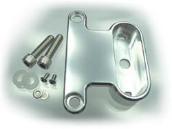 HD-XL Rockerboxhalterung Motoscope Mini poliert