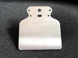 Halteblech C für Motoscope/Motosign Mini poliert