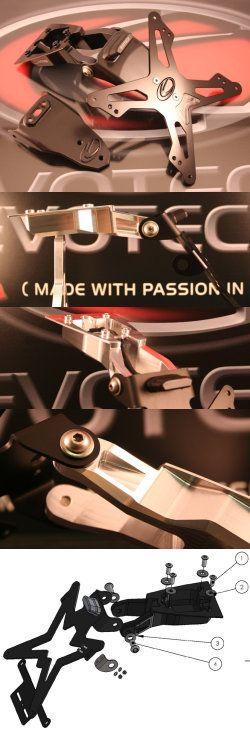 Evotech Kennzeichenhalter Honda CB1000R