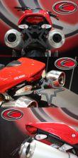 Evotech Kennzeichenhalter Ducati Monster 696