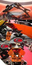Evotech Nummernschildhalter KTM 690 SM Duke