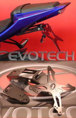 Evotech Kennzeichenhalter Yamaha YZF 125 R