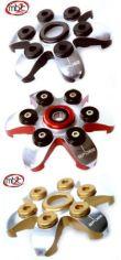 SPIDER Druckplatte für Ducati, zweifarbig