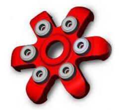 SPIDER Druckplatte für Ducati, einfarbig
