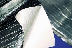 Cool-Reflect Alu-Fiberglas Hitzeschutzmatte selbstklebend