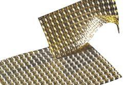 Aluminium Hitzeschild 2-lagig verprägt gut formbar