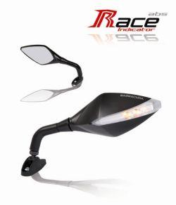 Barracuda Spiegel Race Indicator mit integrierten LED-Blinkern