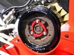 Kupplungsdeckel mit Sichtfenster und Druckring für Ducati 1199 Panigale