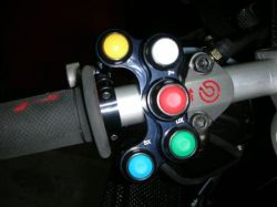 Schaltereinheiten Race Ducati Monster
