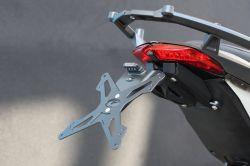 Evotech Kennzeichenhalter Ducati Hyperstrada Hypermotard SP 2013