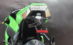Evotech Kennzeichenhalter Kawasaki ZX10 R ab Baujahr 2011