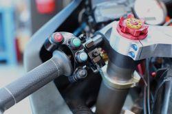 Evotech Schalterarmatur links Racingversion mit 5 Tastern/Schaltern