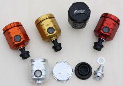 Universal Bremsflüssigkeitsbehälter ohne ABE mit Nissin Steckanschluss