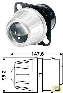 HELLA Premium Fernscheinwerfer-Modul 60mm