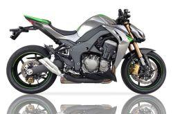 IXIL Hyperlow Edelstahl-Endtopf Kawasaki Z1000 Bj.10-14 Dualexit E-geprüft