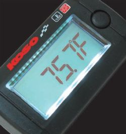 Koso Mini LCD Thermometer beleuchtet