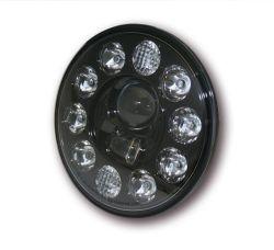Highsider LED Hauptscheinwerfereinsatz mit Abblend- Fern- und Standlichtfunktion E-homologiert Schwarze Blende