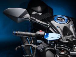Lightech Billet Aluminium Spiegel für Nakedbike mit E-Zeichen
